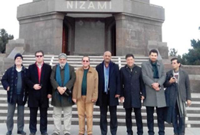 ادای احترام شاعران ایرانی به نظامی گنجوی
