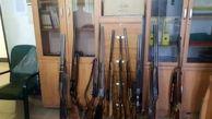اسلحه های شکاری قاچاق در توقیف پلیس قزوین