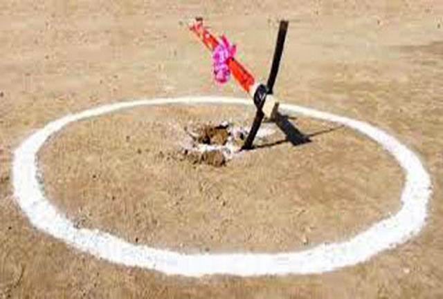 کلنگ ساخت سالن ورزشی منطقه بانبرز ایلام به زمین زده شد