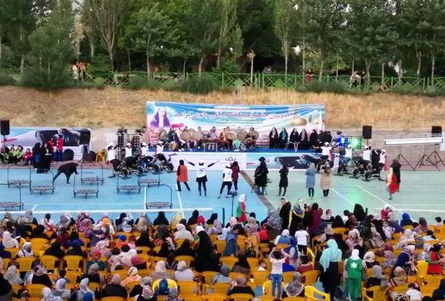 دومین جشنواره بزرگ فرهنگی ورزشی بانوی کرامت در قزوین برگزار شد
