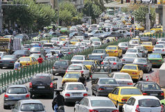 ترافیک سنگین  در محور شهریار - تهران
