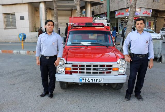 سه اکیپ سیار آتش نشانی در چند نقطه از سطح شهر سنندج مستقر می شوند
