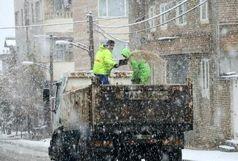 آمادهباش کامل ۸۸۰ پاکبان و ۵۷ خودرو سازمان مدیریت پسماند شهرداری ارومیه برای بارش برف