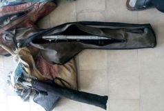 کشف و ضبط 5 قبضه سلاح شکاری از متخلفین در الیگودرز