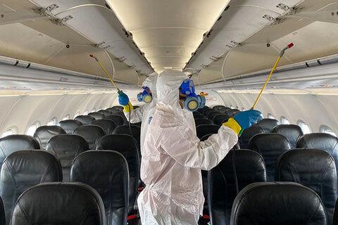 رعایت پروتکل بهداشتی ظرفیت مسافر در پروازها