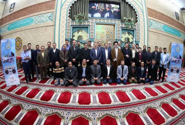 آئین استقبال از کاروان قرآنی انقلاب برگزار شد