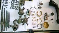 کشف اشیاء تاریخی هزاره اول قبل از میلاد