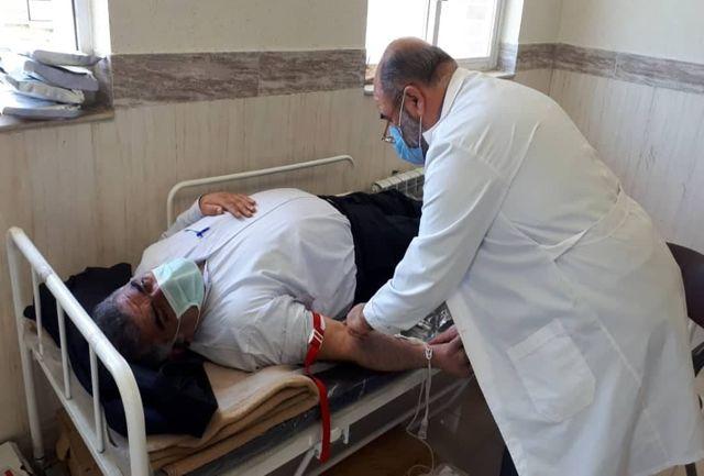 12 هزار هزار سیسی خون توسط شهروندان کلاردشتی اهدا شد