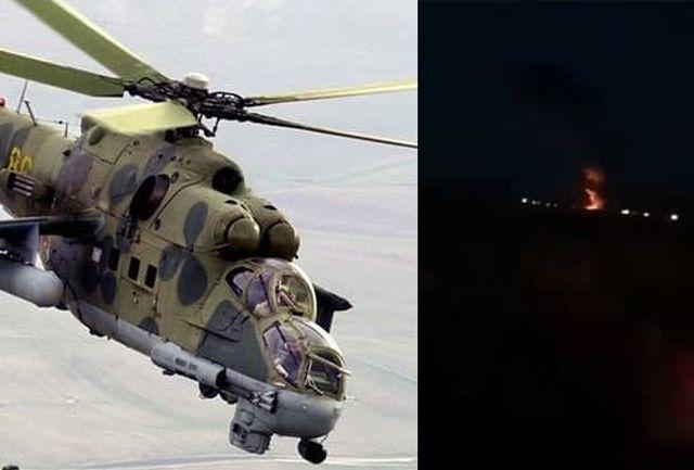 جمهوری آذربایجان به سرنگونی بالگرد روسی اعتراف کرد