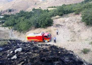 آتشسوزی در روستای نیکنامده مهار شد