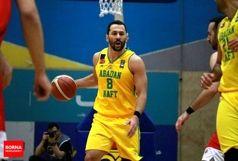 بُرد قاطع بسکتبالیست های آبادانی در برابر رعد پدافند هوایی مشهد