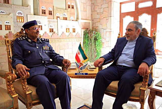 عضو شورای عالی سیاسی یمن با سفیر ایران دیدار کرد