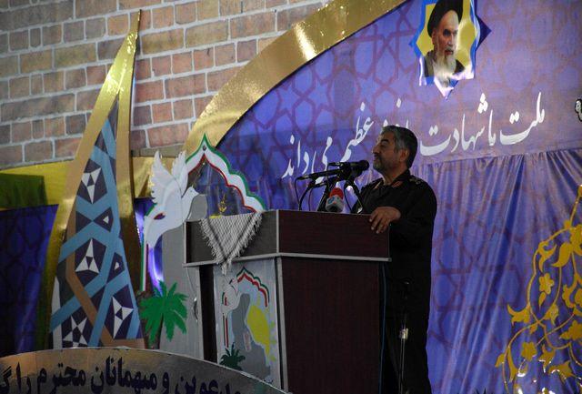 سیستان وبلوچستان به برکت خون شهدا از امنیت بسیار خوبی برخوردار است