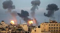 ادامه حملات هوایی به غزه