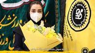 تجلیل باشگاه فولاد مبارکه سپاهان از پرستار ادیب اصفهانی