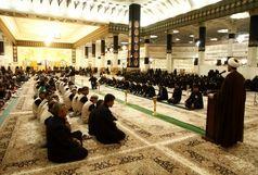 در موکب آستان مقدس گوشبهفرمان رهبری و مرجعیت عراقیم
