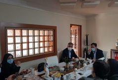 شهردار و برخی اعضای شورای شهر بم با سرپرست هیئت فوتبال استان کرمان دیدار کردند