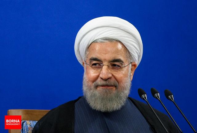 رییس جمهوری فرا رسیدن سال ۱۳۹۶ را به مراجع عظام تقلید تبریک گفت