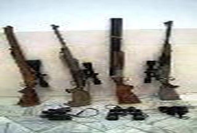 رایزنی تحویل گرفتن سلاح های غیرمجاز در رودبار جنوب در حال انجام است