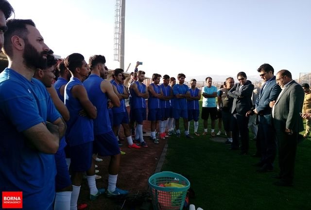 تیم فوتبال مس کرمان میتواند به لیگ برتر برود