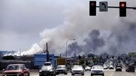 تلاش ۶۰ آتشنشان برای اطفای آتش انبار مبلمان