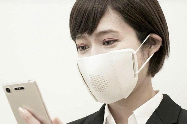 این مدل ماسک صدا را تقویت میکند+ عکس