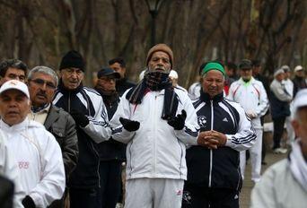 سالگرد مربی ورزش صبحگاهی کشور یادبود ((ابوالحسن معدلی))