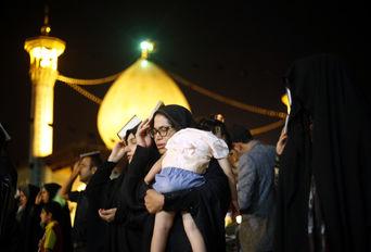 احیای شب بیست و سوم ماه رمضان- حرم حضرت شاهچراغ(ع)