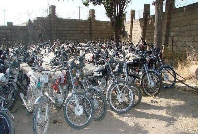 18دیماه آخرین فرصت ترخیص موتورسیکلت های رسوبی از پارکینگ ها