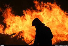 مهار به موقع آتش سوزی یک فروشگاه پوشاک در اراک