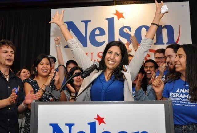 ورود نخستین زن ایرانی به کنگره آمریکا