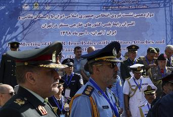 نشست افسران رابط پلیس کشورهای خارجی مستقر در تهران