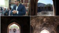 کاروانسرای تاریخی روستای خرزان ایمن سازی می شود