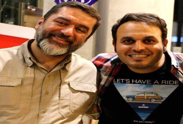 سید محمود رضوی برای کارگردانش نوشت