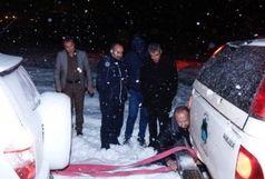 امداد رسانی به ۳۸۵دستگاه خودرو در کولاک اخیر