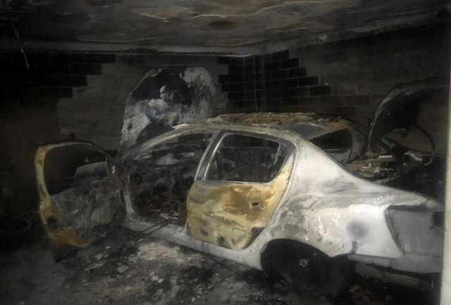مردی جوان به طرز مشکوکی در آتش سوزی یک ساختمان سوخت