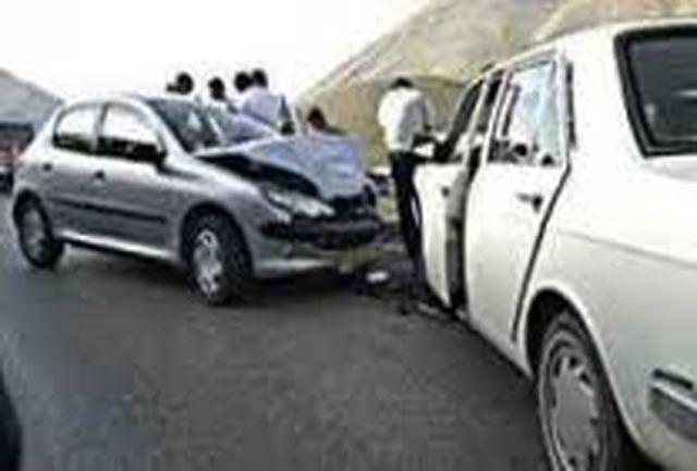وقوع 11 تصادف جرحی در محورهای خراسان شمالی