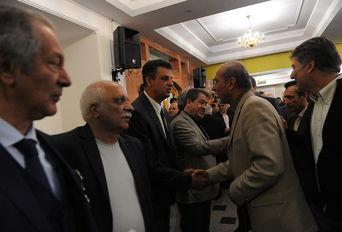 مراسم یاد بود چهلمین روز درگذشت پرویز زاهدی