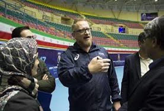 سالن رضازاده اردبیل مورد تایید نماینده FlVB قرار گرفت