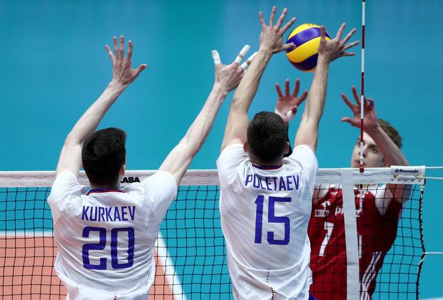 روسیه 3 بر یک مقابل لهستان پیروز شد