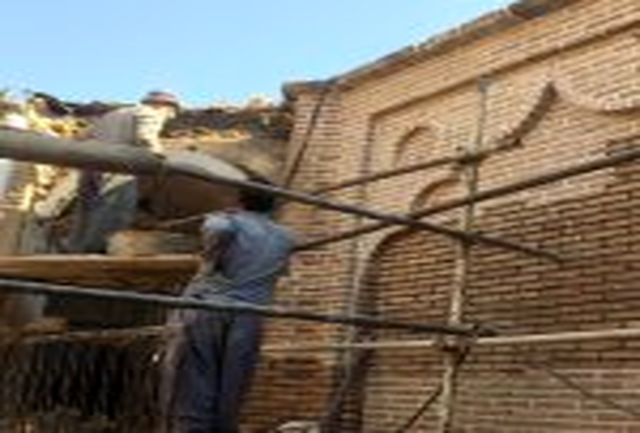 ساماندهی و مرمت خانه تاریخی زینعلی به نیمه رسید