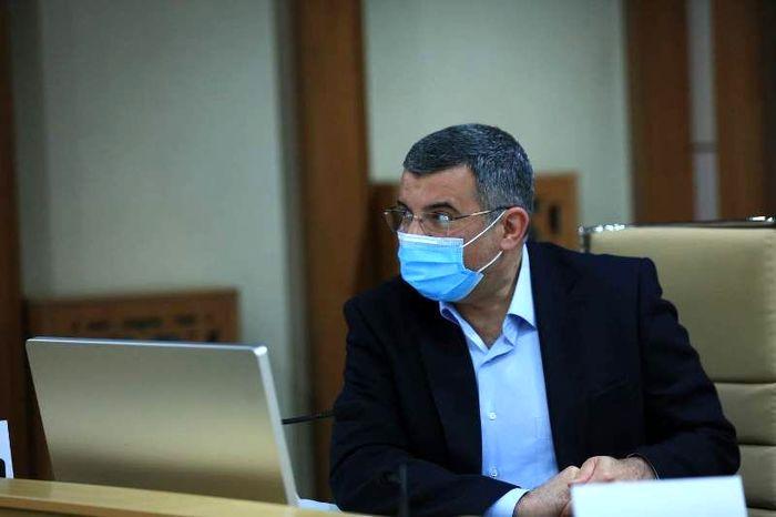 حریرچی: کرونا وضعیت تهران را قرمز کرد