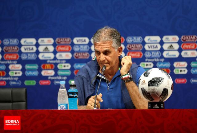 اظهارات کیروش درمورد رئال مادرید