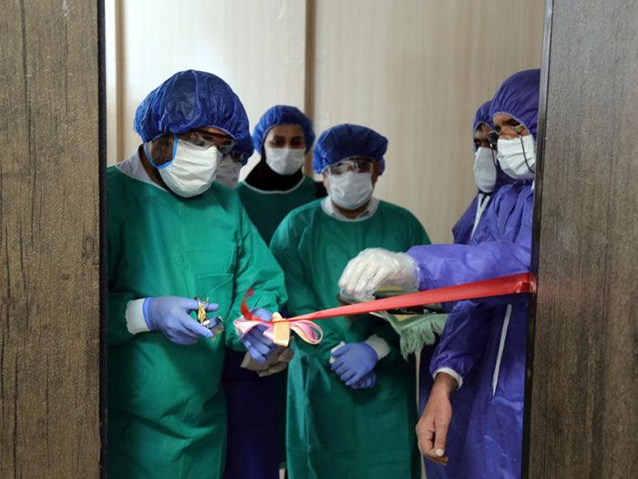 آزمایشگاه تشخیص کرونا در دانشگاه علوم پزشکی ایرانشهر افتتاح شد