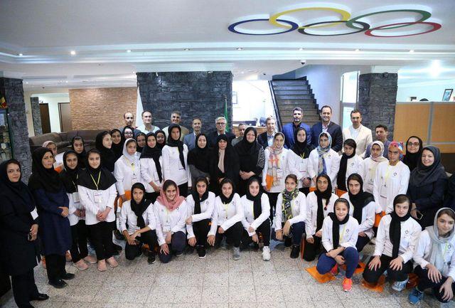 از طرح بورسیه ورزشی امیدها و ستارههای آکادمی ملی المپیک به صورت رسمی رونمایی شد