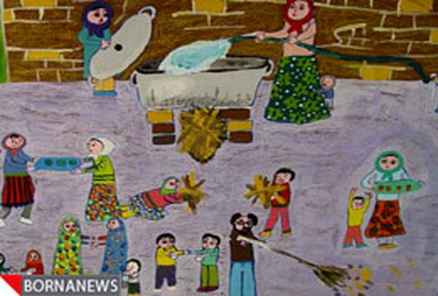 فنلاند به دو دختر نقاش ایرانی دیپلم افتخار داد