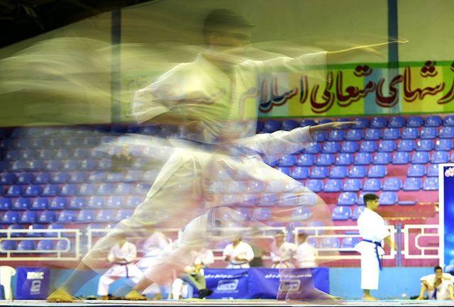 مسابقات کشوری سبکهای آزاد کاراته برگزار میشود