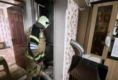 آتش سوزی بر اثر اشتعال بنزین/دونفر مصدوم شدند