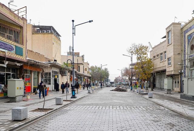 اجرای پروژه ادامه پیادهراه خیابان ارم تا چهارراه شهدا /آغاز عملیات اجرایی در خردادماه