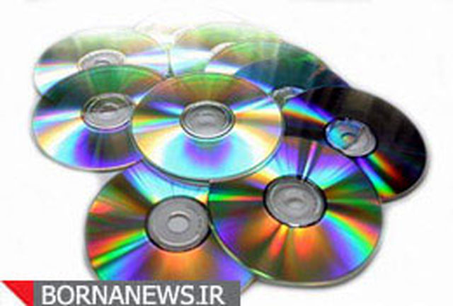 کشف حدود 34 هزار حلقه سی دی غیر مجاز